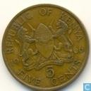 Kenia 5 cents 1966