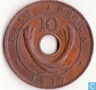 East Africa 10 cents 1937 (KN)