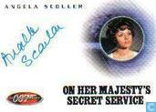 Angela Scouler in On her Majesty's secret service