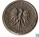 Poland 20 zlotych 1990