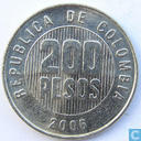 Coins - Colombia - 2006 Columbia 200 pesos