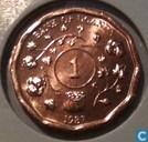 Ouganda 1 shilling 1987