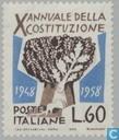 Timbres-poste - Italie [ITA] - Constitution