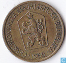 Czecho-Slovakia 1 koruna 1966