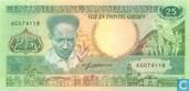 Suriname 25 Gulden 1986