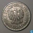 Poland 1 zloty 1965