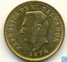 El Salvador 2 centavos 1974