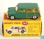 Morris Mini Traveller (mid green, lemon interior)