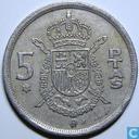 Spanje 5 pesetas 1976