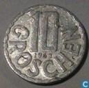 Austria 10 groschen 1963