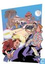 VERKEERDE RUBRIEK ----> STRIP-EXLIBRIS/PRENT Vreemd Krakeel in Californië