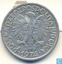Poland 2 zlote 1974