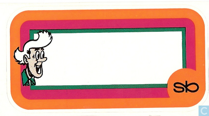 Schoolsticker Sidonia Standaard Boekhandel Catawiki