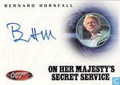 Bernard Horsfall in On her Majesty's secret service
