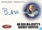 Bernard Horsfall in On her Majesty's secret service