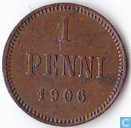 Finlande 1 penni 1906