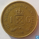 Netherlands Antilles 1 gulden 1990