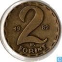 Hongrie 2 forint 1982