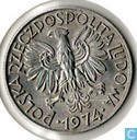 Poland 5 Zlotych 1974