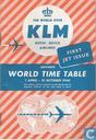 KLM 01/04/1960 - 31/10/1960
