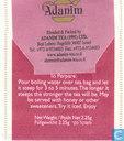 Sachets et étiquettes de thé - Adanim - Infusion de Fraises des Bois