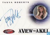Tanya Roberts in A view to a kill