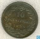 Italy 10 centesimi 1894 (BI)