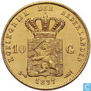 Netherlands 10 gulden 1877