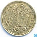 Spain 1 peseta 1975 (1976)