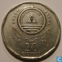 """Cape Verde 20 escudos 1994 """"Novas de Alegria"""""""
