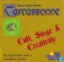 Carcassonne - Cult, Siege and Creativity
