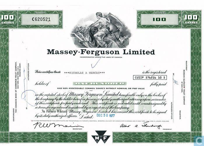 Massey ferguson ltd essay