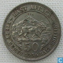 East Africa 50 cents 1956 (H)