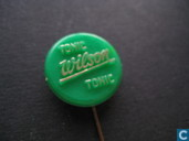 Wilson tonic tonic [gold on green]