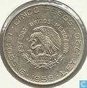 Mexico 5 pesos 1956