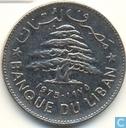 Lebanon 1 livre 1975