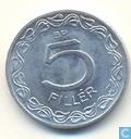 Coins - Hungary - Hungary 5 fillér 1970