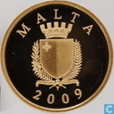 "Malta 50 euro 2009 (PROOF) ""La Castellania"""