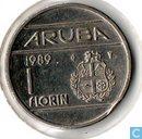 Aruba 1 florin 1989