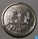 Belgium 50 francs 1990 (NLD)