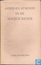 Goed en schoon in de Sovjetcritiek