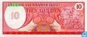 Suriname 10 Gulden 1982
