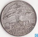 Lebanon 25 piastres 1936