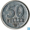 Hungary 50 fillér 1969