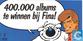 400.000 albums te winnen bij Fina