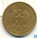 Poland 5 zlotych 1987