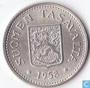 Finland 100 markkaa 1958