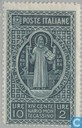Postage Stamps - Italy [ITA] - Monte Cassino monastery 1000 years