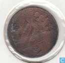 Nederland ½ cent 1821 (U)