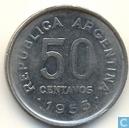 Argentinië 50 centavos 1953